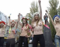 Topless protest Putin