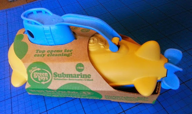 how to clean green toys submarine