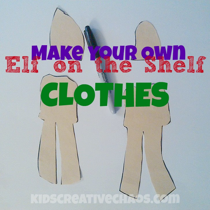 Elf on the Shelf Clothes Ideas. Make your own pattern!