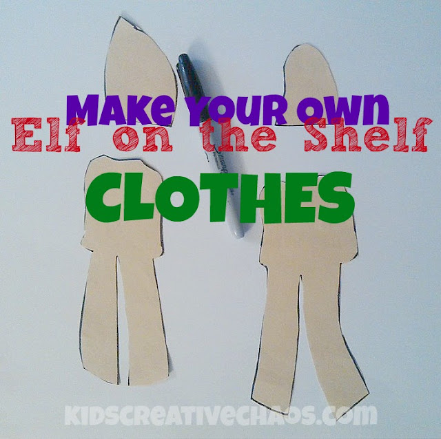 Elf on the Shelf Clothes Ideas