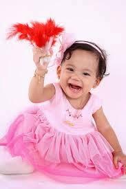 foto bayi lucu ceria