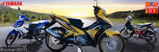 Striping New Yamaha Jupiter MX 135