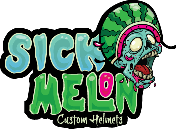 Sick Melon Custom Helmets
