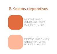 Colores corporativos Coaching
