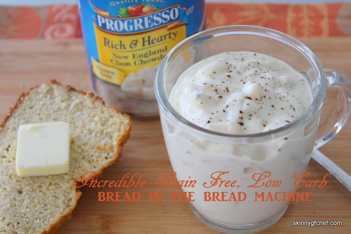 SOFT, low carb, grain-free & gluten free bread in the Bread Machine.