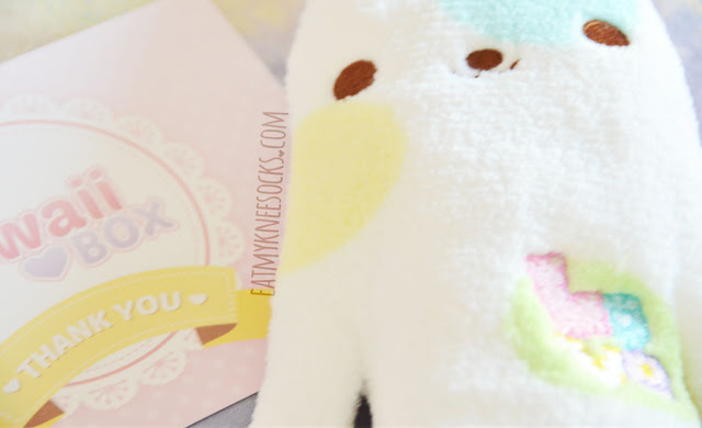 Here's a closer look at the 11 cute Japanese stationery, beauty, plush, and canddy items from the October 2015 Kawaii Box, including a Flan pencil pouch, DIY Meiji candy, nail art stickers, decoden stickers, animal stickers, printed envelopes, a lollipop pen, a blue lollipop, a monster pouch, a neko emoji pouch, and more!