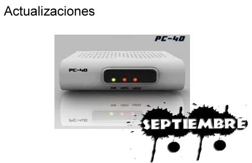 Actualización EVOLUTIONBOX DONGLE PC40 Mas Corrección de Errores 04 Septiembre 2013