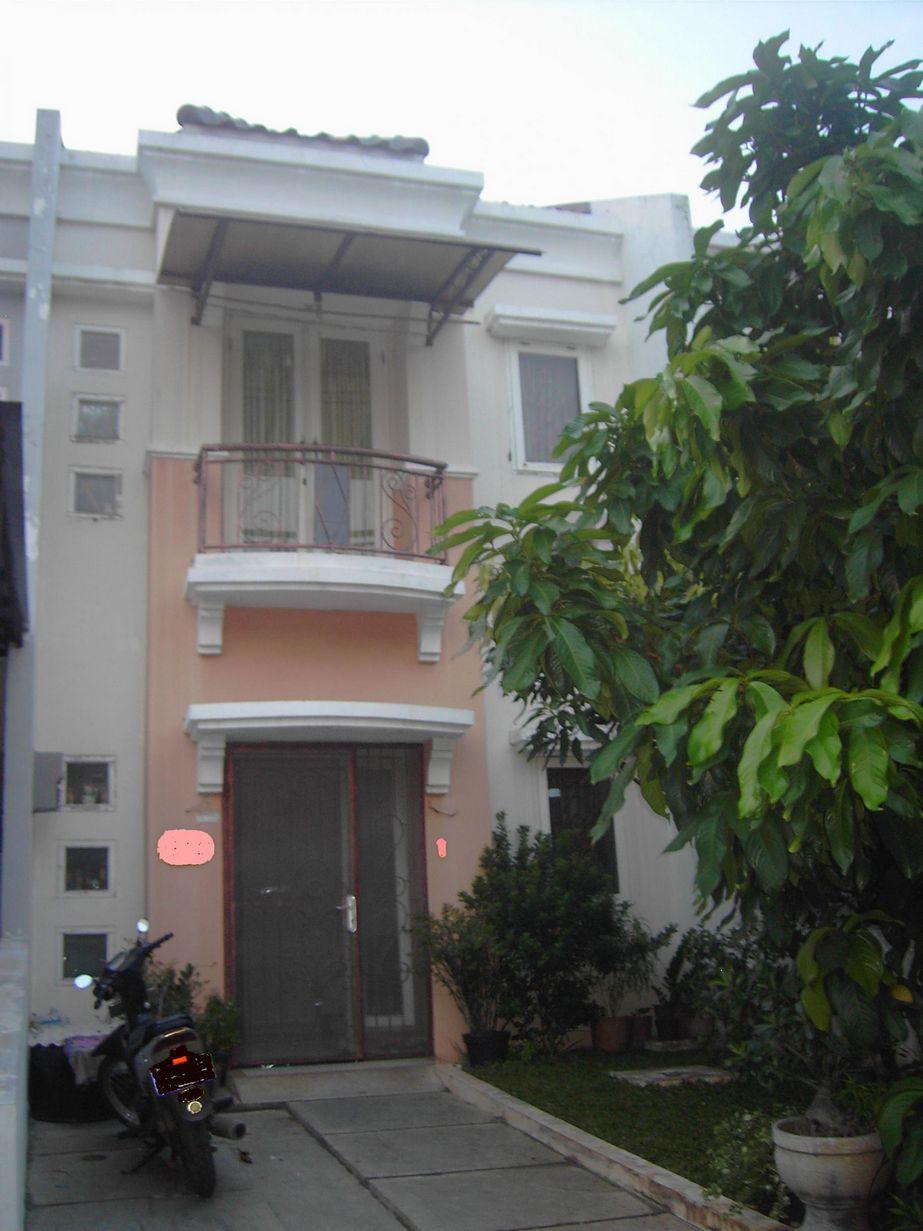 contoh rumah mediterania 2 lantai populer