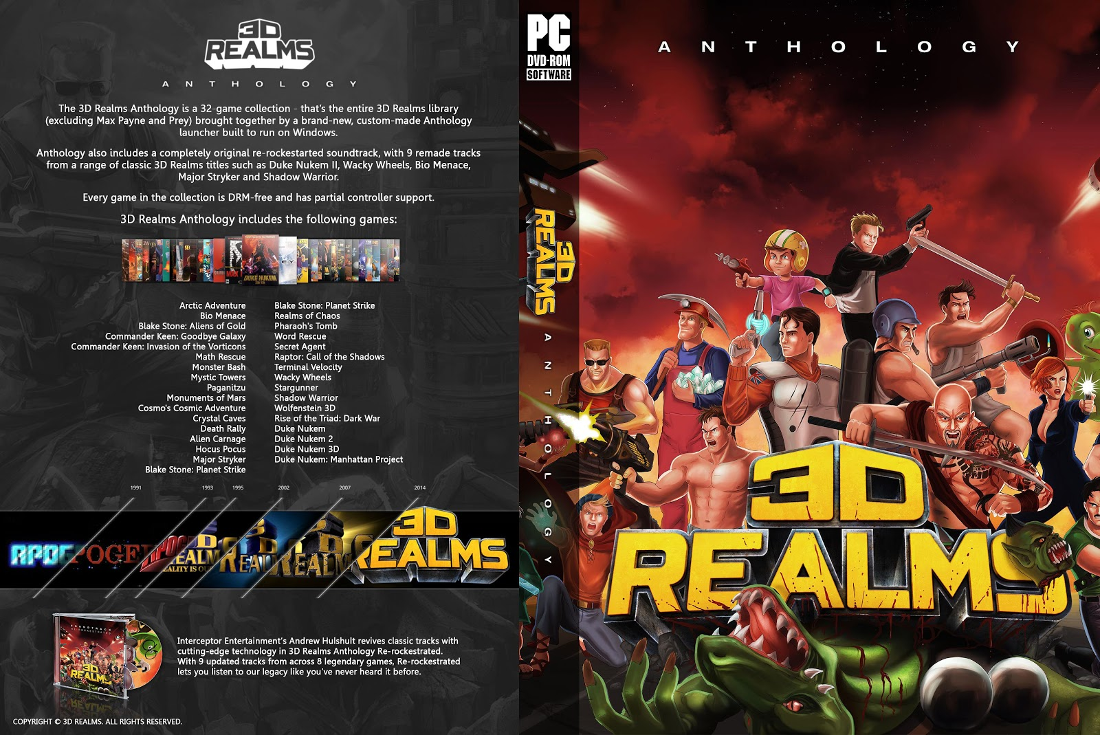 Capa 3D Realms Anthology PC