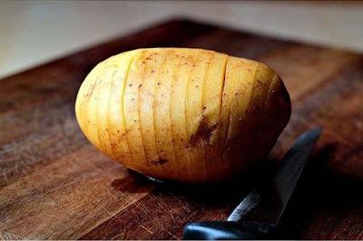 COOL : Inilah cara membuat ubi kentang bakar yang menyelerakan