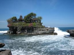 Tanah Lot, a beautiful temple in Bali