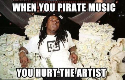 When You Pirate Music - You Hurt The Artist