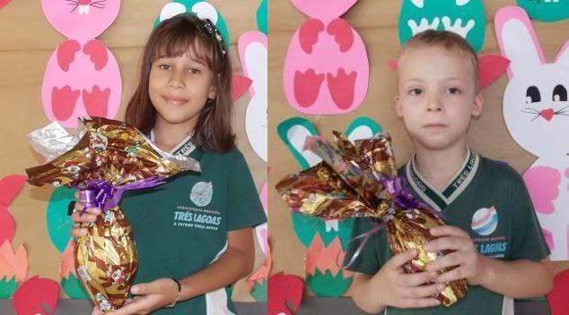 Ganhadores da Promoção Páscoa Premiada da Olyntho 2014