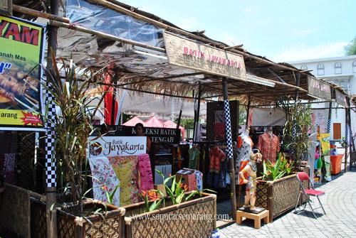 Stand Batik Jayakarta Saat Pameran