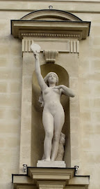 Paris Ier. Façade sud du Palais de Justice.
