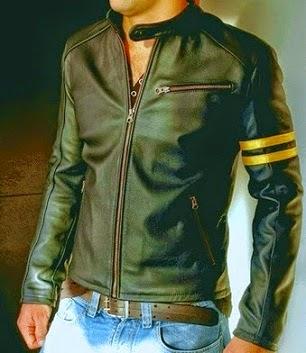 inilah contoh gambar jaket kulit model wolverine x men modifikasi
