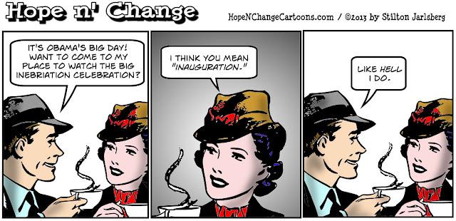 obama, obama jokes, inauguration, coffee couple, hope and change, hope n' change, stilton jarlsberg, alcohol