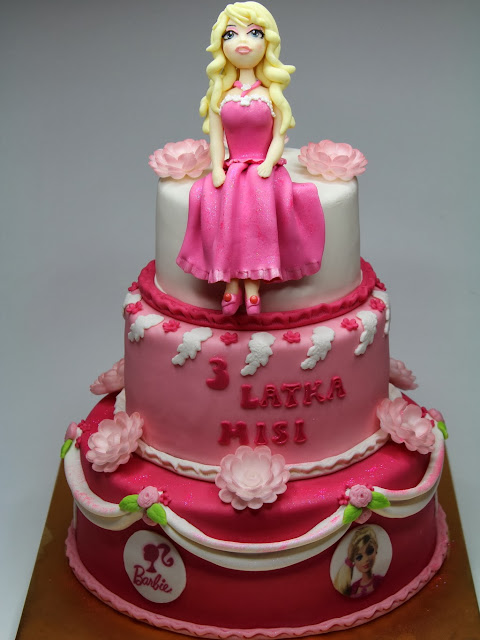 Birthday Cakes London -Barbie Girl - bday cake for girl