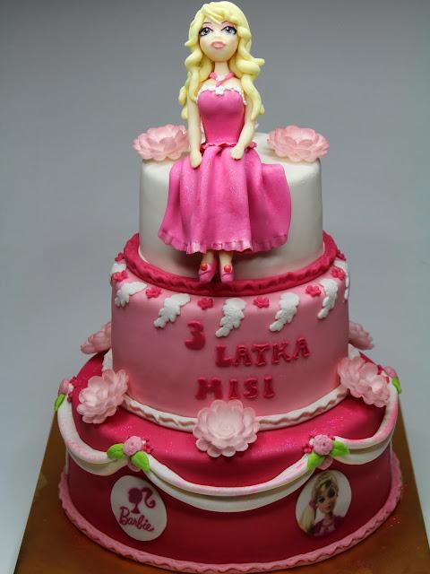 Birthday Cakes London -Barbie Girl - bday cake for girl