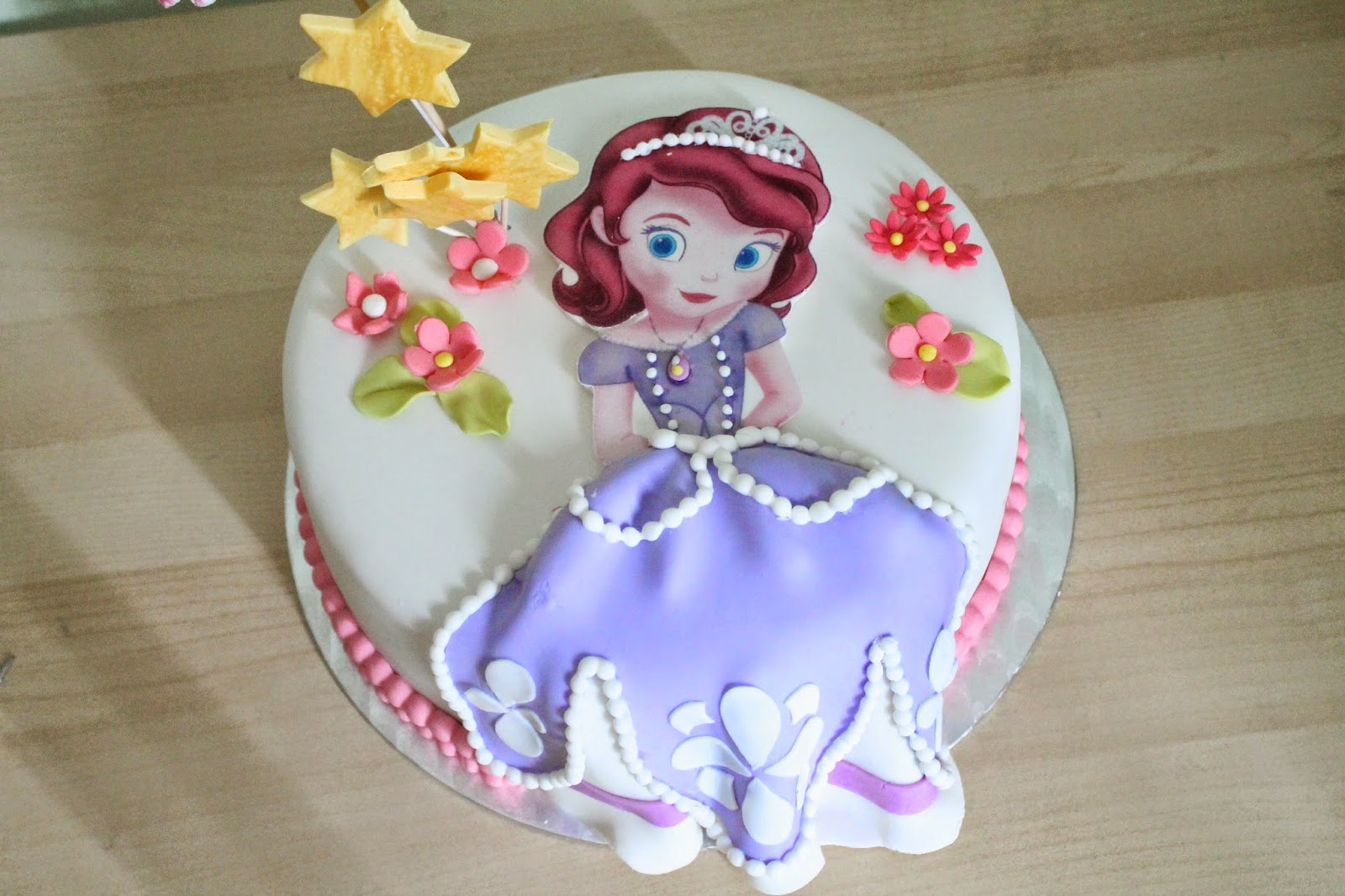 Biscocho De La Princesa Sofia Cristy S Cakes Princesa