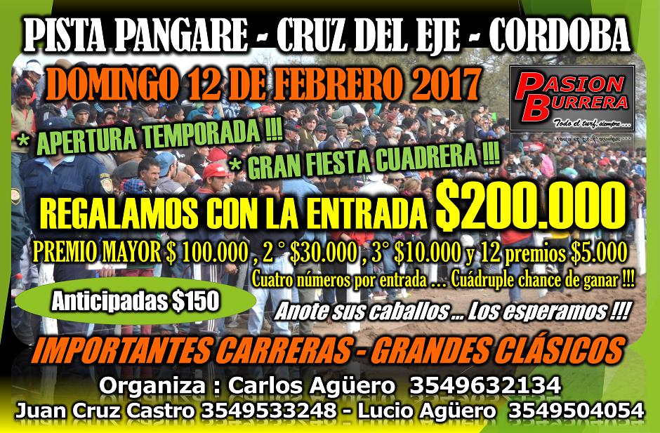 PANGARE - 12 DE FEBRERO
