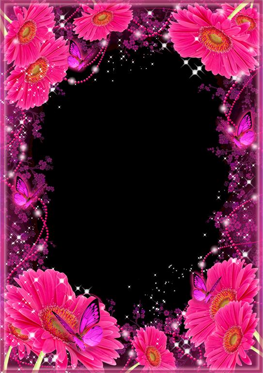 Bordes para fotos con flores de colores 4 dise os for Paginas para hacer planos