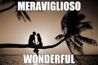 meraviglioso wondeful - translated