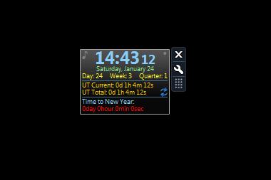Digital Clok Gadget Untuk Windows 7 x64Bit