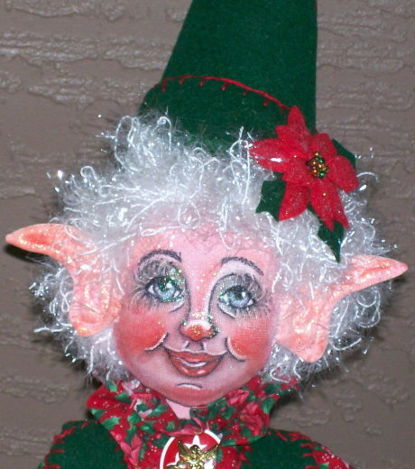 Sherrie Poinsettia Elf