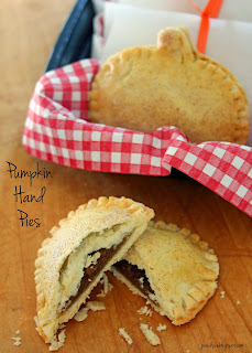 Pumpkin Hand Pies from Jo and Sue