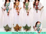 Allena White Kaftan SOLD OUT
