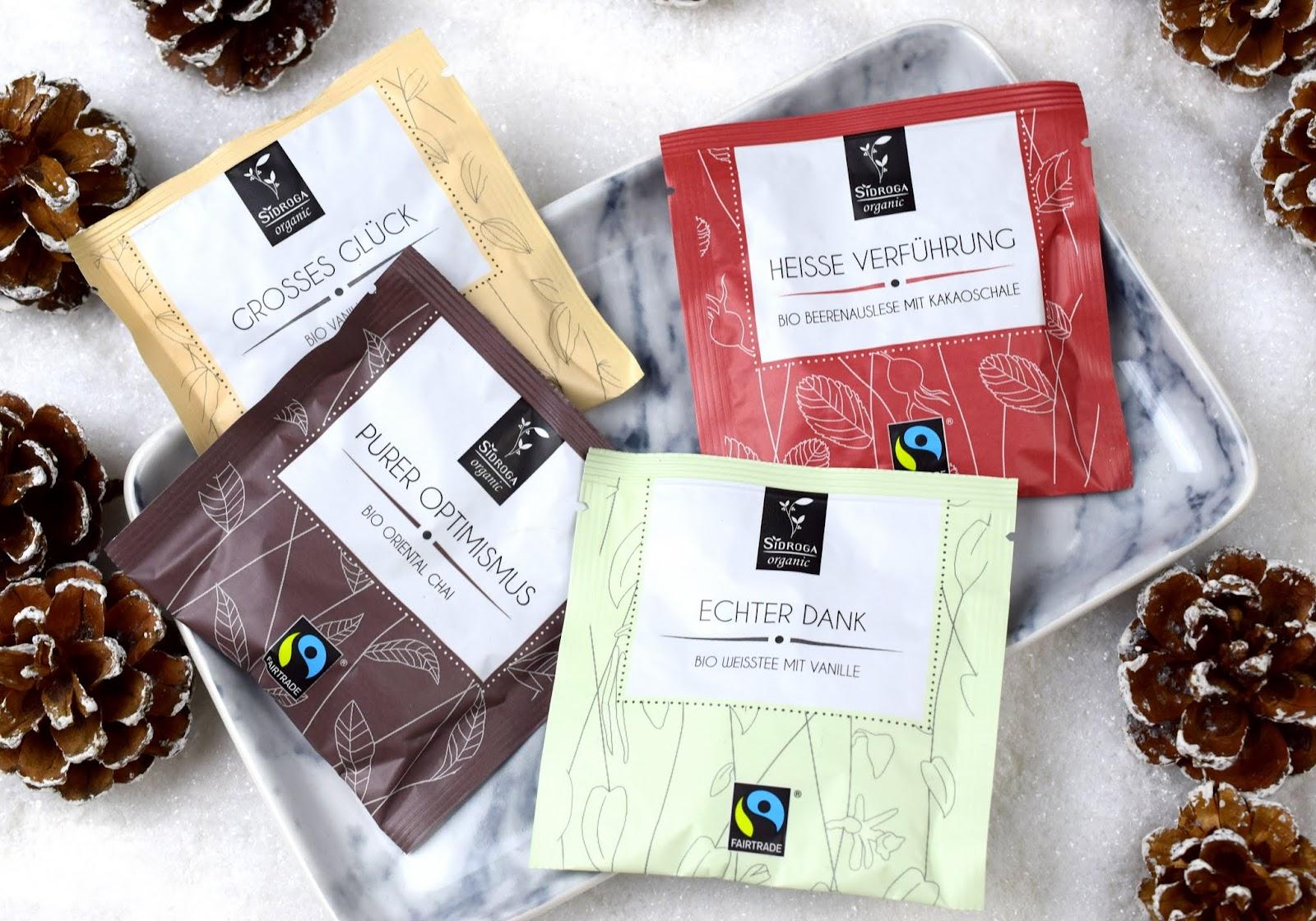 Adventskalender Gewinnspiel Sidroga Organic Wahres Leben Tee Geschenkbox