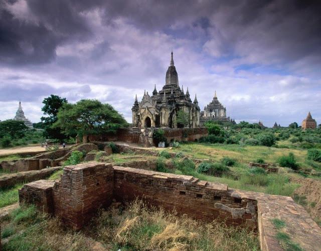 The Simple Beauty Of Nature: Bagan Myanmar