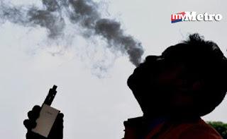 Rokok elektronik boleh sebabkan kanser