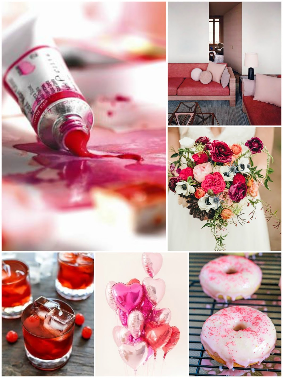 valentines day inspiration moodboard monday