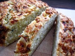 Parsnip Thyme and Gruyere Bread