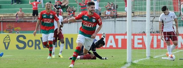 Portuguesa 3x0 Caxias - Em segundo tempo arrasador, Lusa vence o Caxias