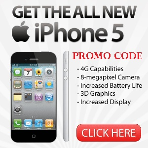 discounts iphone 5 promo code. Black Bedroom Furniture Sets. Home Design Ideas