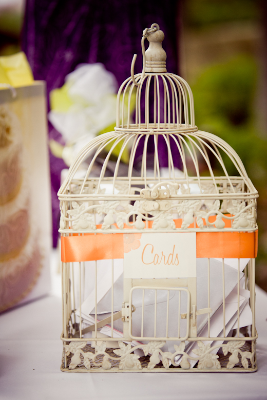 vintage bird cage wedding card holderwhite and pink wedding bouquets