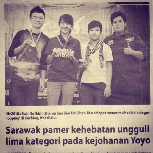 SARAWAK YOYO NEWSPAPER