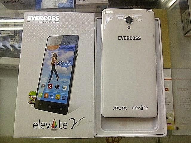 Harga Evercoss Elevate Y A66a Dengan Spesifikasi Quad Core