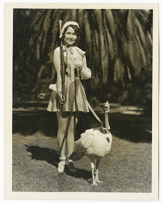 Dorothy Sebastian with turkey