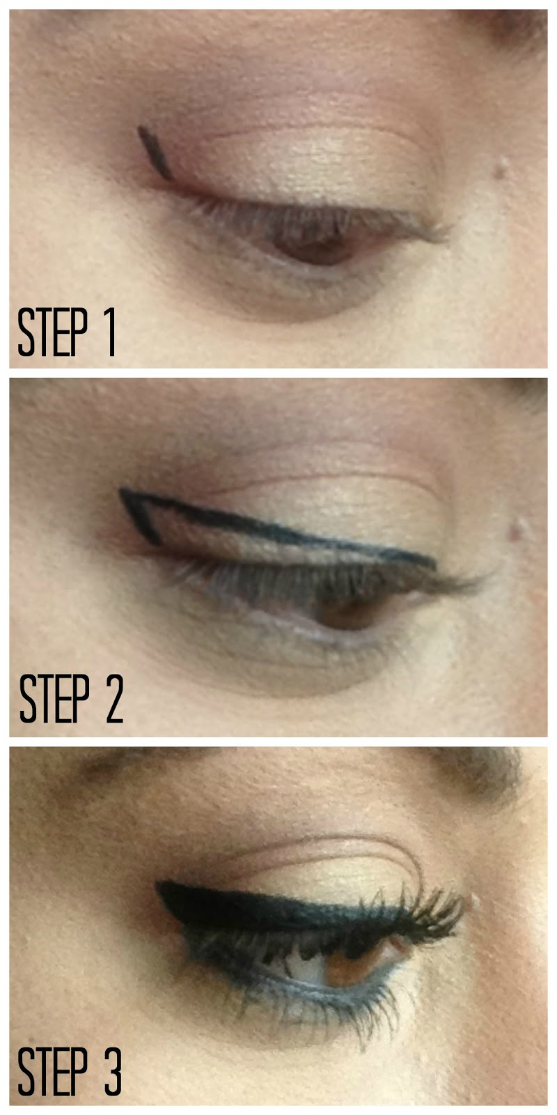 Winged eyeliner tutorial hairspray and highheels winged eyeliner tutorial baditri Image collections
