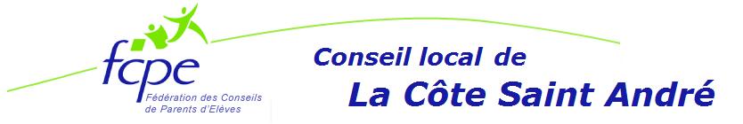 Conseil local FCPE de La Côte Saint André