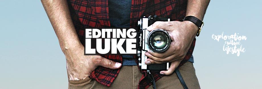 Editing Luke