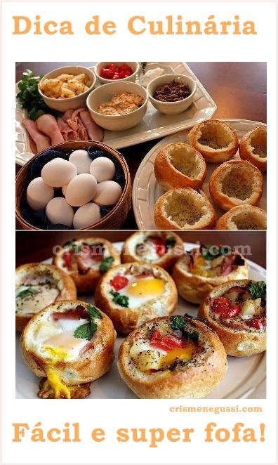 ovos de forno