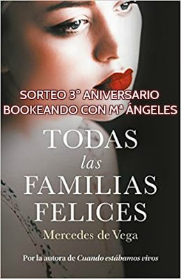 ¡Sorteo en Bookeando con Mª Ángeles!