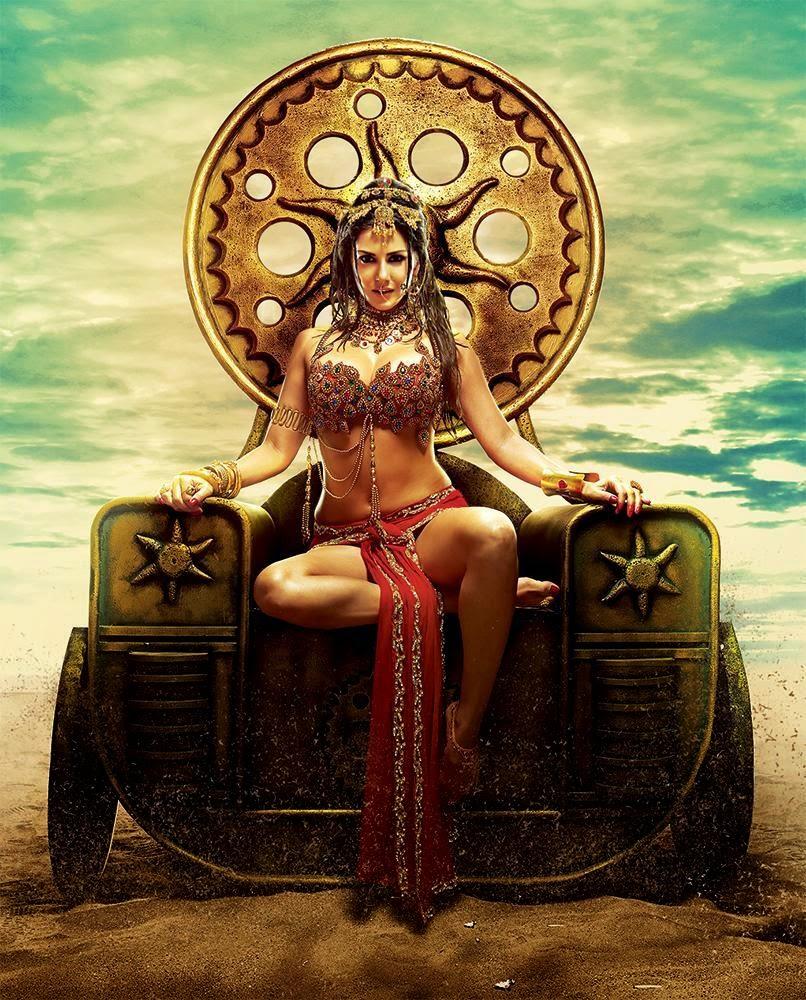 Greek Goddess Sunny Leone