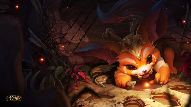 P.O League Of Legends Champs And Skins - Página 8 Wallpaper_Gnar