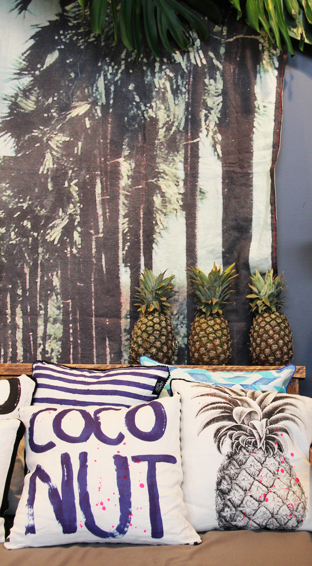 Big pineapple pillow from Ourlieu.com, $70